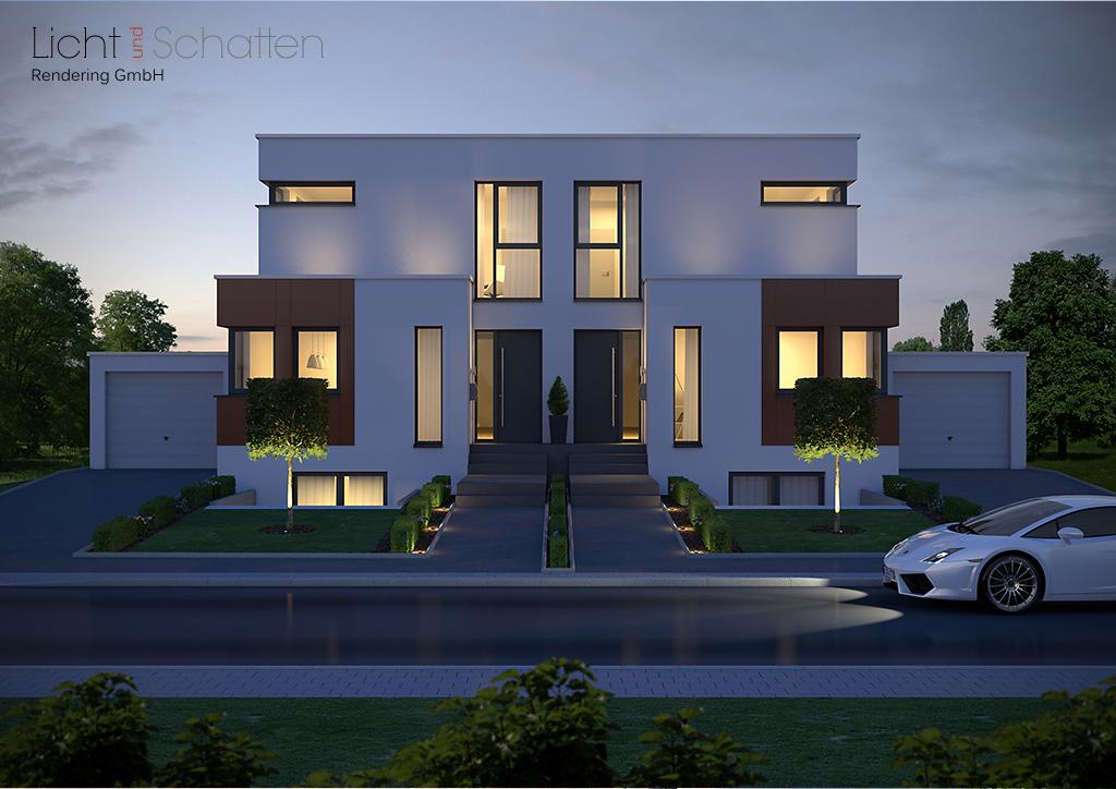 architekturvisualisierung und industrievisualisierung hochwertige architektenh user in. Black Bedroom Furniture Sets. Home Design Ideas