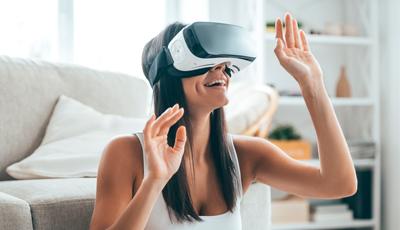 Virtuelle Begehung mit VR-Brille
