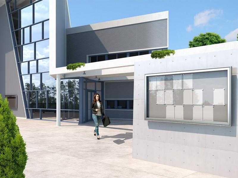 Architekturvisualisierung Bürogebäude