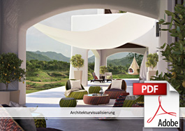 Broschuere Architekturvisualisierung