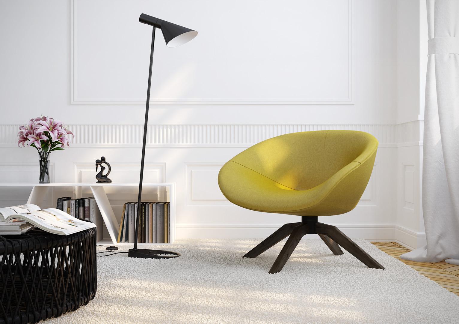 Fotorealistische Renderings Möbel 001
