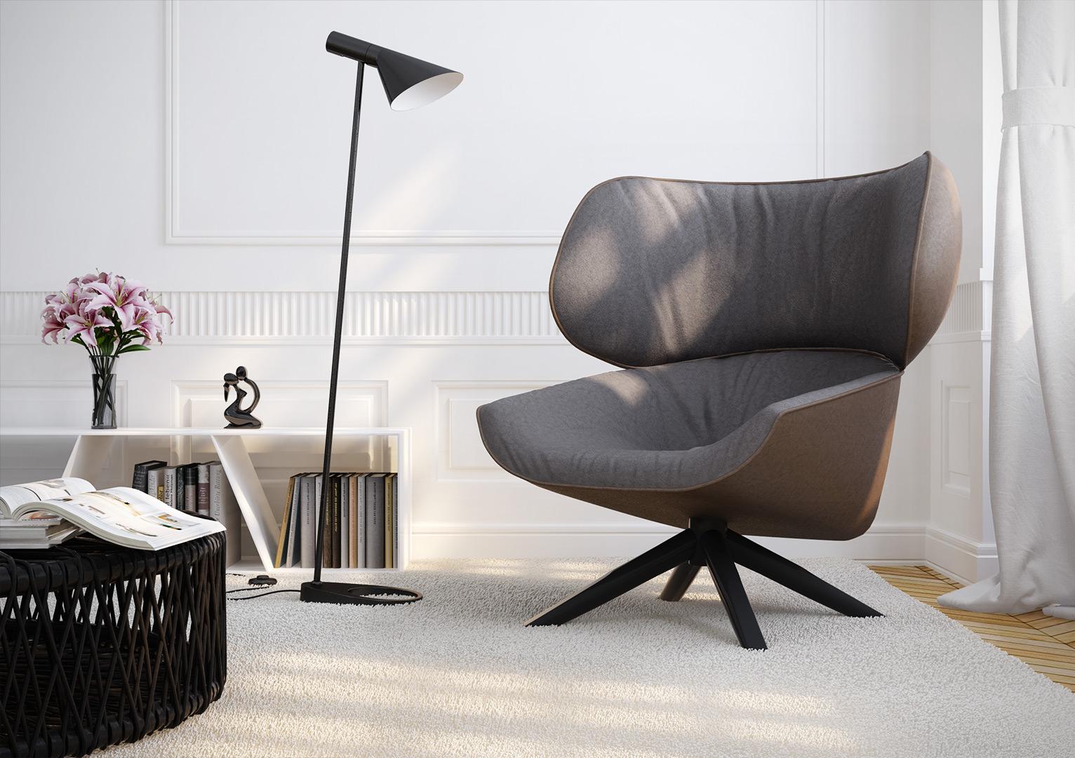 Fotorealistische Renderings Möbel 002