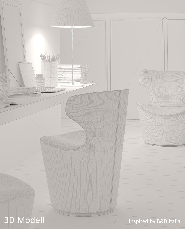Photoreal-CGI-Wireframe