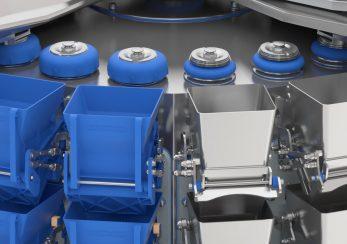 Industrie Maschine technische Visualisierung 3D
