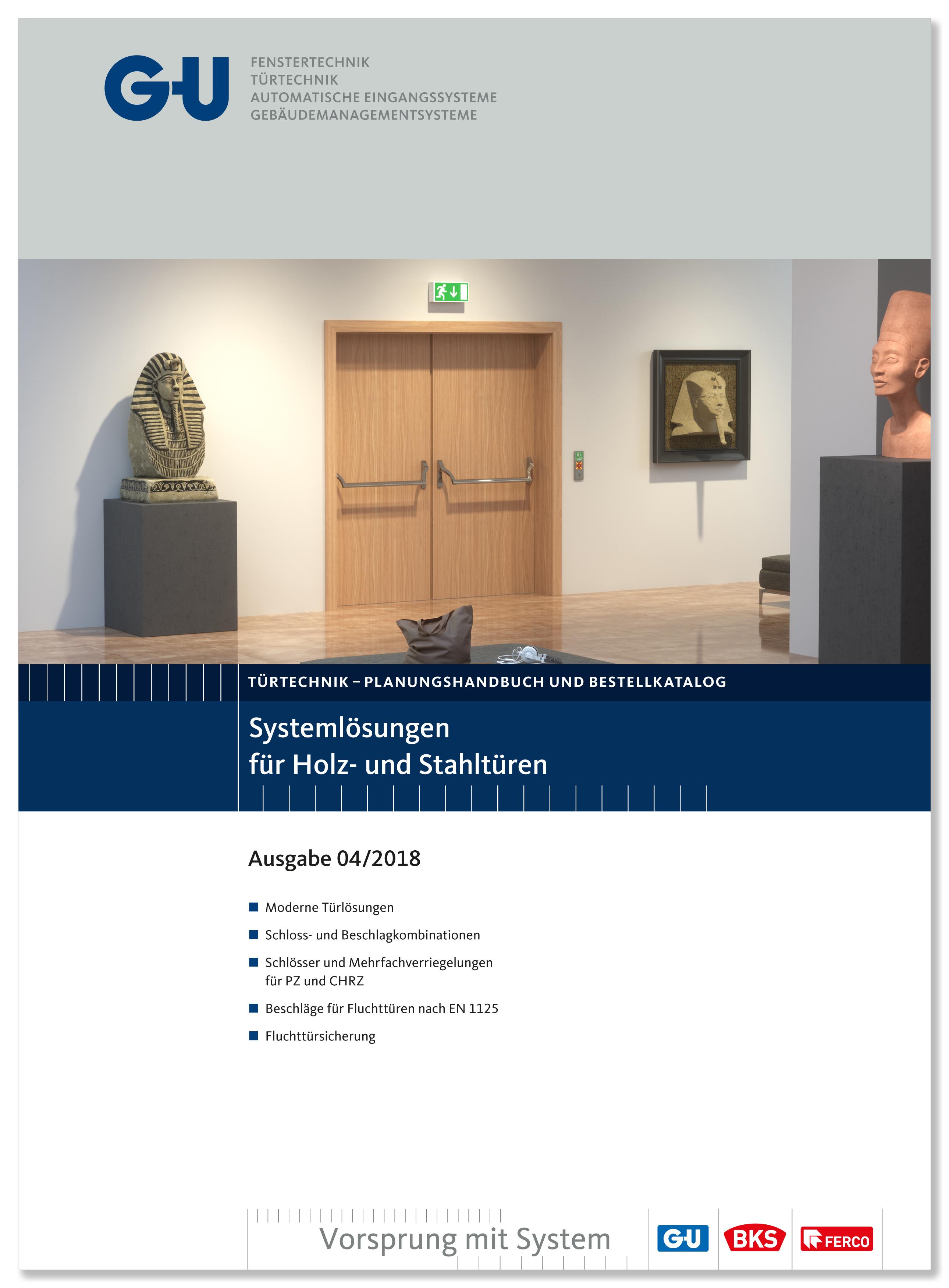 Katalog Titelblatt Fluchttüre Museum