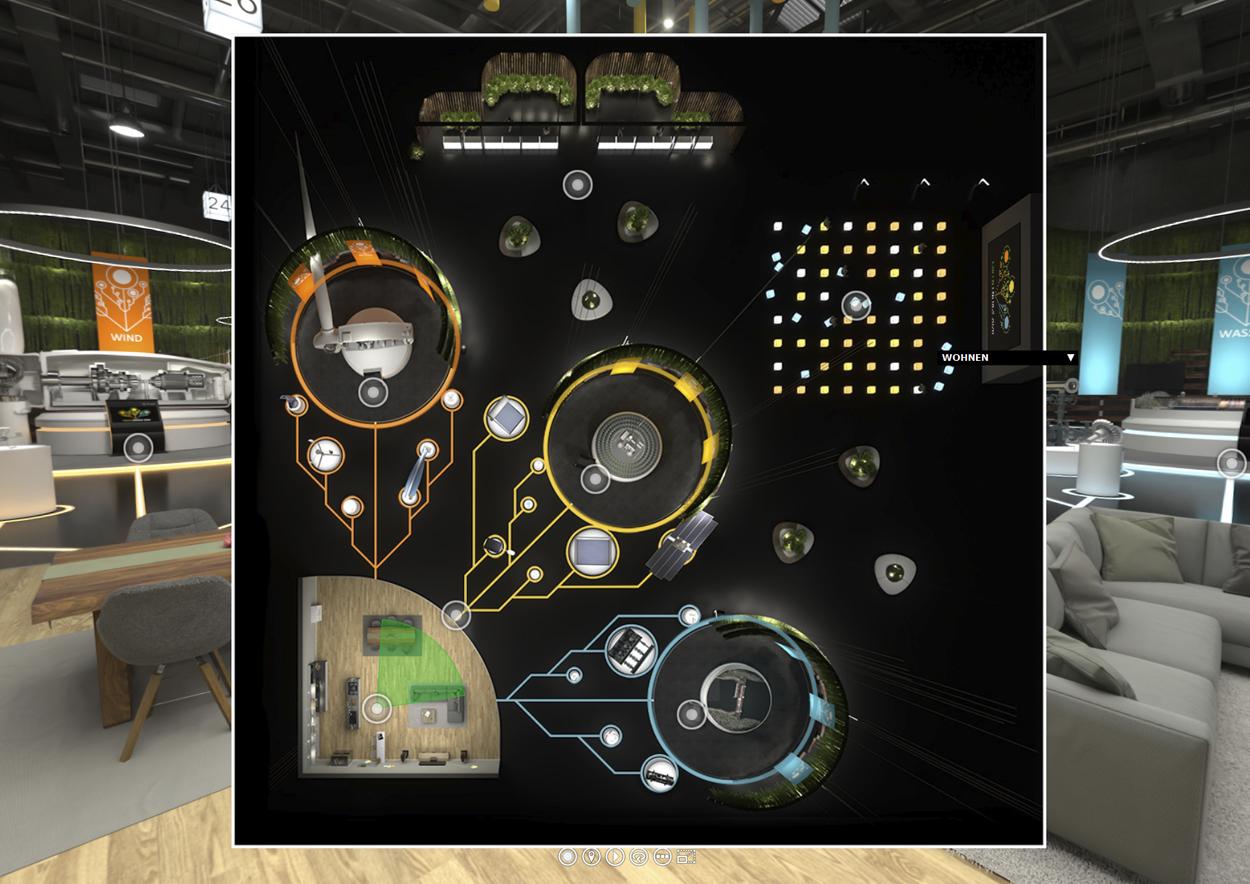 Virtueller-Messestand-Floorplan